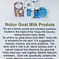 6 Oz Nuluv Herbal Mist Hand Made Goats Milk Lotion