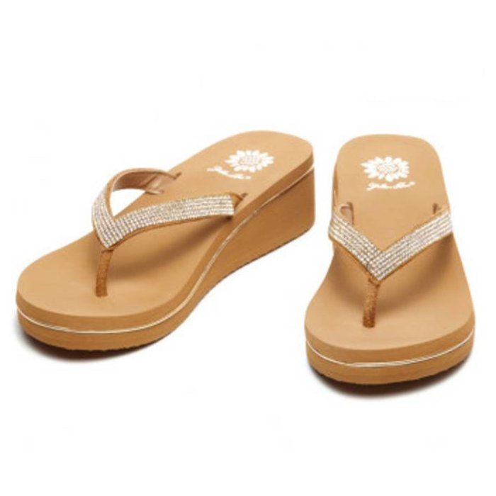 Briah Flip Flop - Gold
