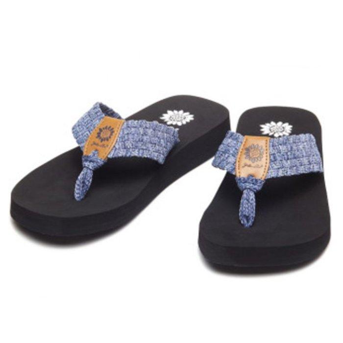 Soleil Flip Flop - Blue