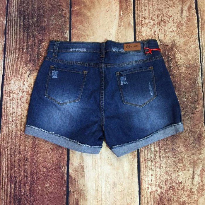 White Steer Shorts