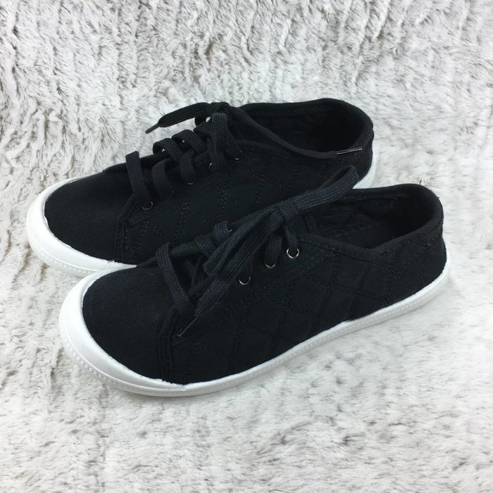 Oriana - Black Tennis Shoe