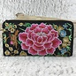 Rose Embroidered Wallet