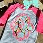 Kids Mah Goats Baseball Shirt - Youth Large