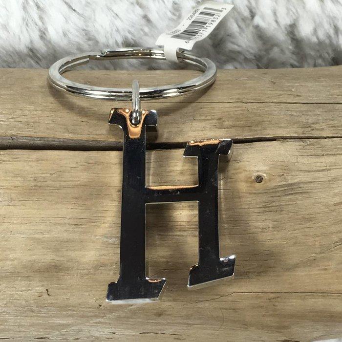 Large Chrome Key Chain H