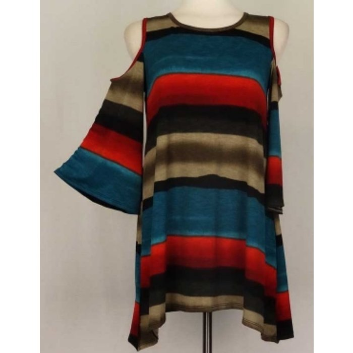 Plus Striped Tunic