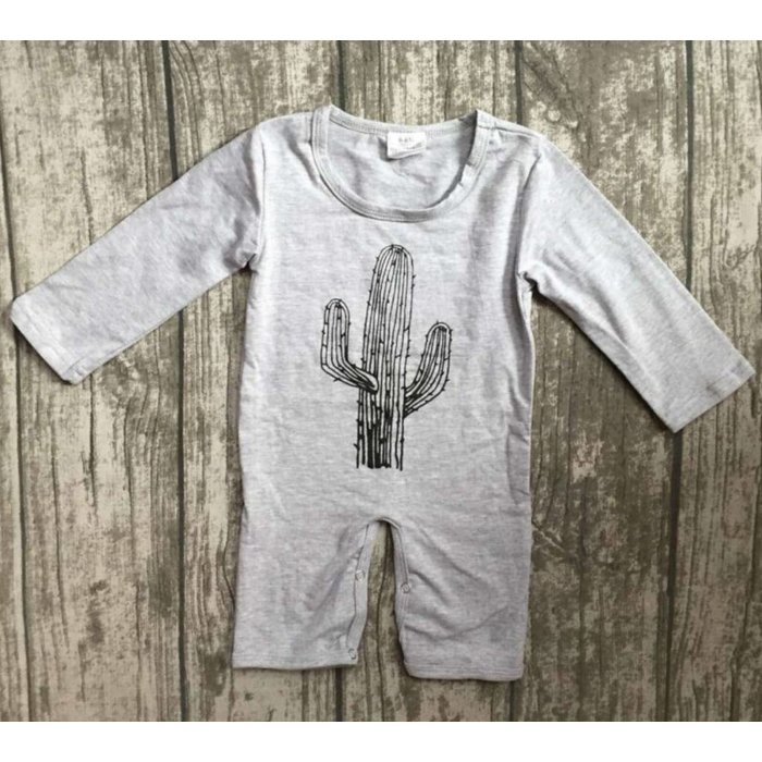 Cactus Long Sleeve Sleeper - 12-18 months
