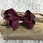 Small Maroon Bow