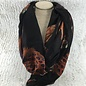 Black Feather Scarf