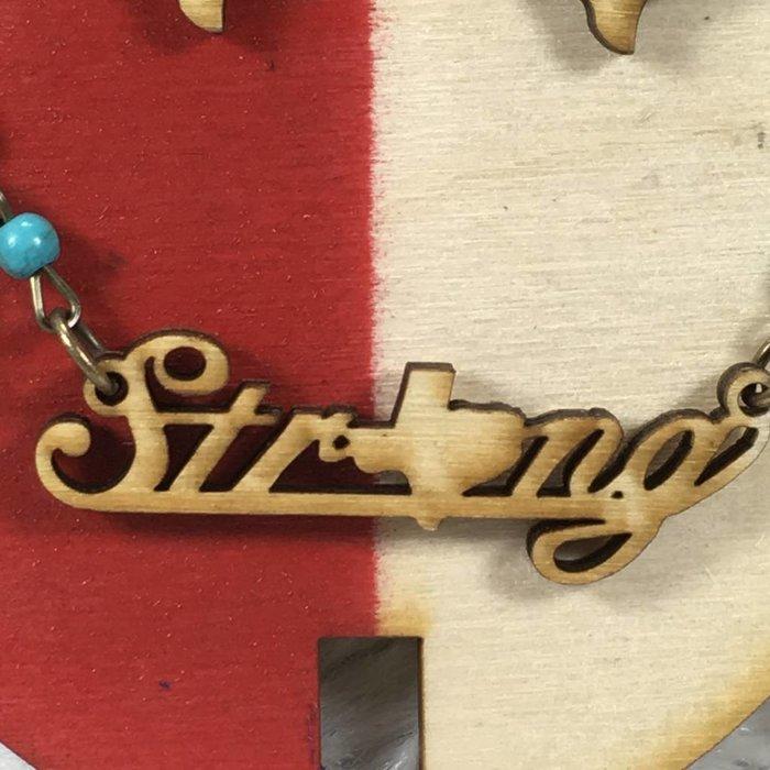 Texas Strong Necklace Set