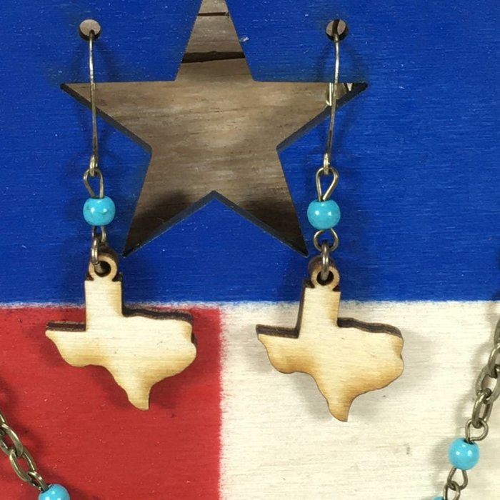 Texas Strong Necklace Set