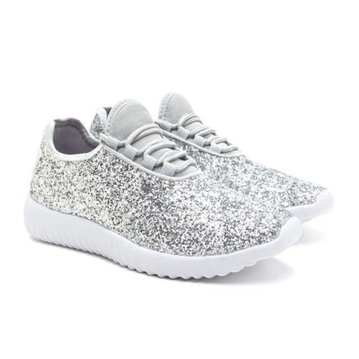 Remy Tennis Shoes - SILVER