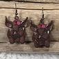 Pig Bronze Earrings
