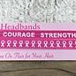 Pink Power Breast Cancer Headband Set