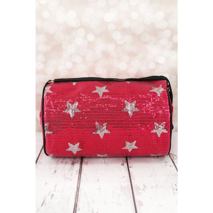 Sequin Star Kids Duffle Bag