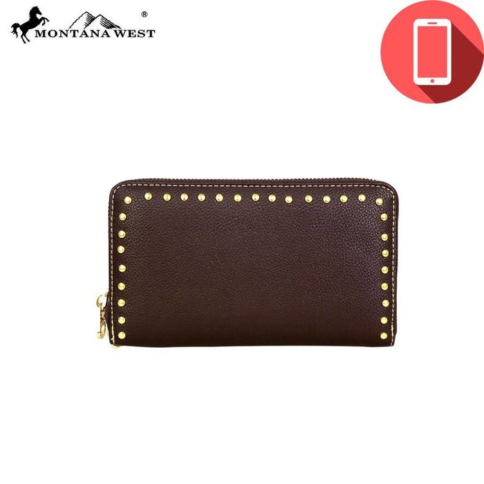 Studded Charging Wallet