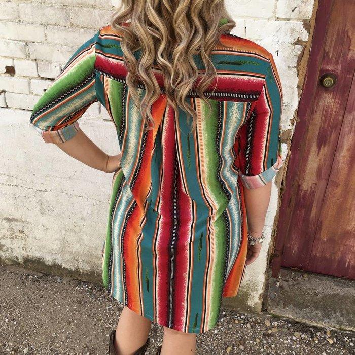 Serape Tunic/Dress