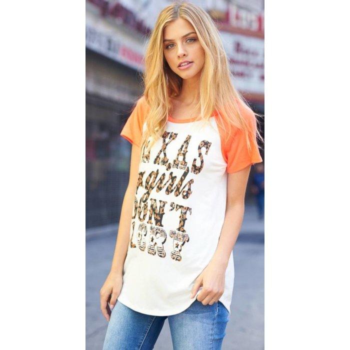 Texas Girls Don't Cry T-Shirt