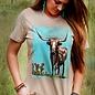 The Stockyards Longhorn T-Shirt