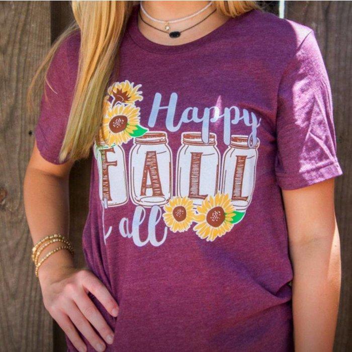 Happy Fall Y'all T-Shirt