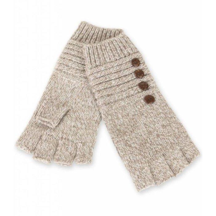 Khaki Fingerless Gloves