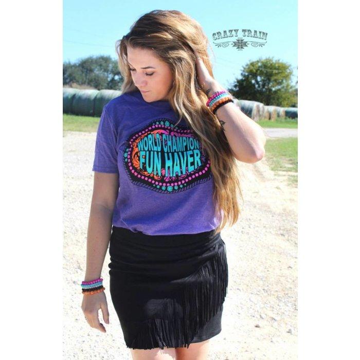Black High Country Vegas Skirt