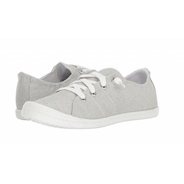 Neema Silver Glitter Tennis Shoe
