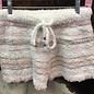 Striped Berber Fleece Pajama Shorts