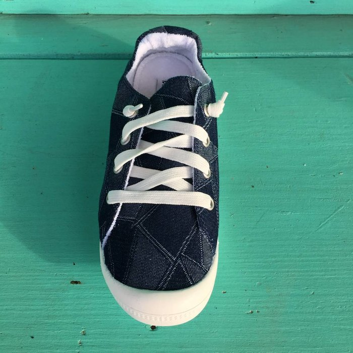 Rhemmy Blue Denim Tennis Shoe