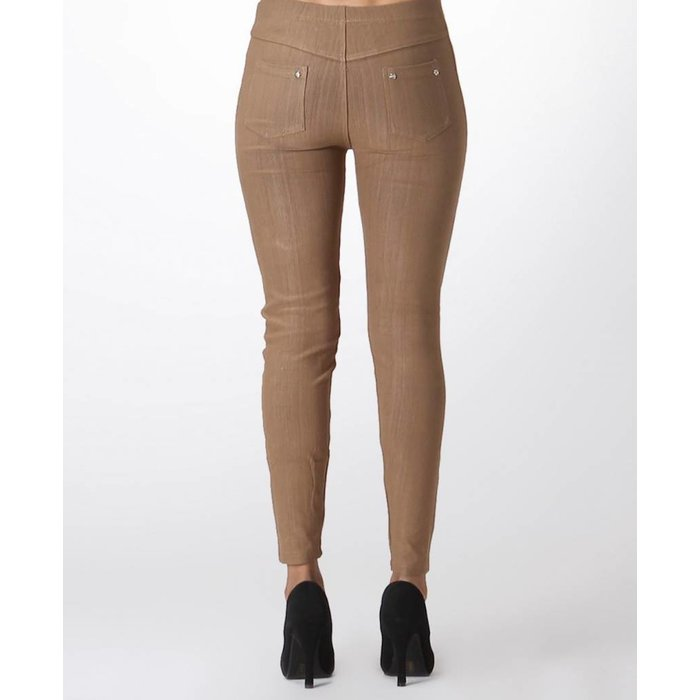Plus Size Khaki Jeggings