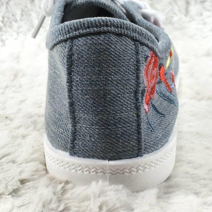 Denim Totem Tennis Shoes