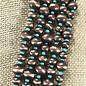 Navajo Pearl Necklace Set - Turq/Bronze