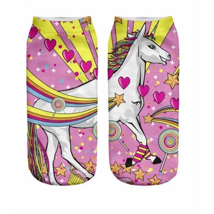 Unicorn Crazy Socks