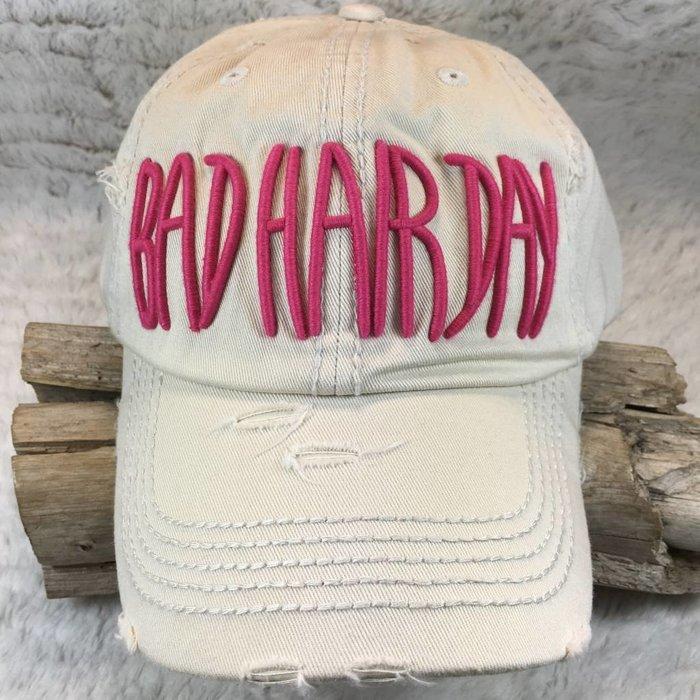 Bad Hair Day Ivory Hat