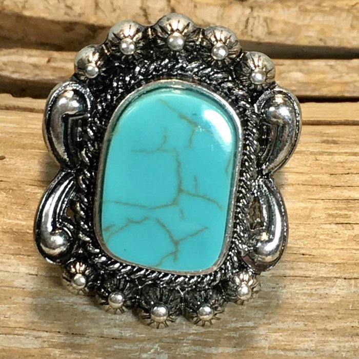 Turquoise Navajo Stretch Ring