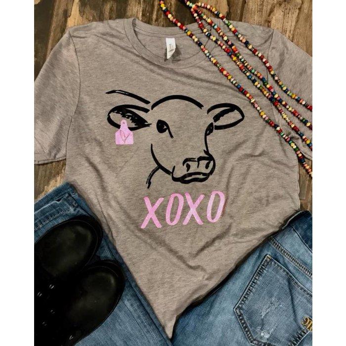PLUS - XOXO Steer T-Shirt 2XL