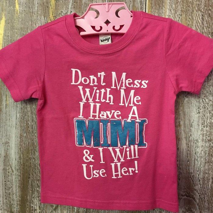Pink MiMi T-Shirt - XXS (12-18 months)