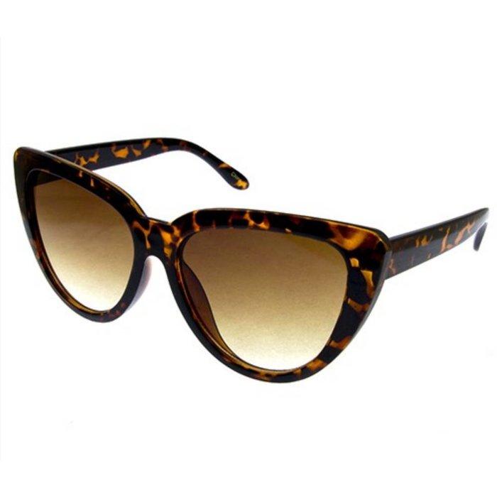 Retro Vintage Large Chic Cat Eye Sunglasses
