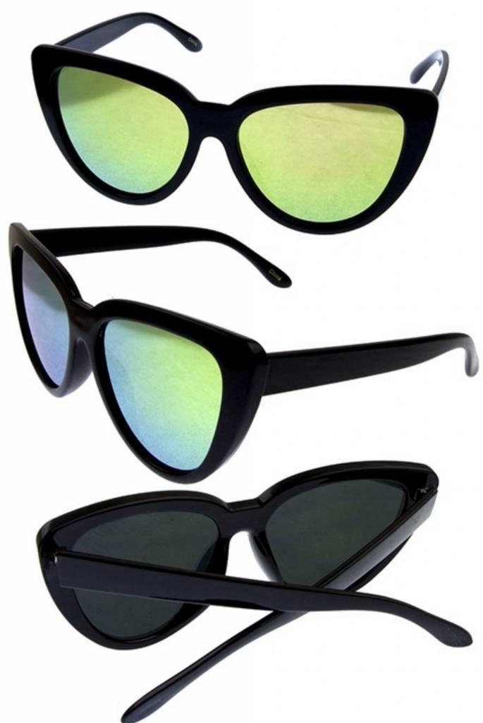277aa0fe698 Vintage Large Cat Eye Glasses