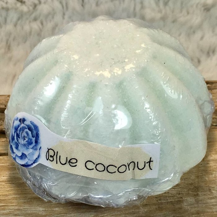 Blue Coconut Bath Bomb