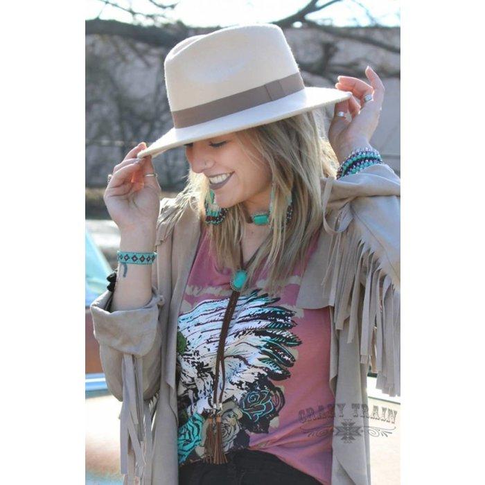Tan Wild Bill Hat
