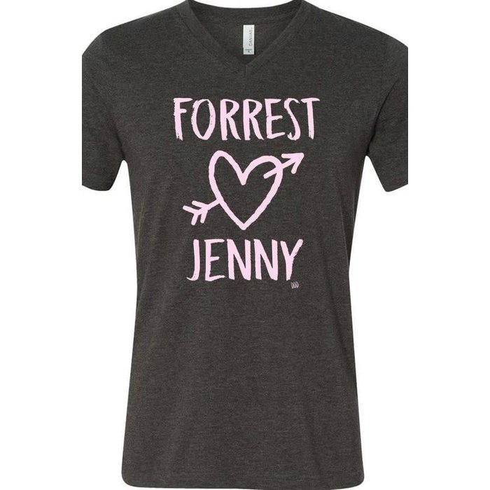 Forrest Loves Jenny V-Neck Tee