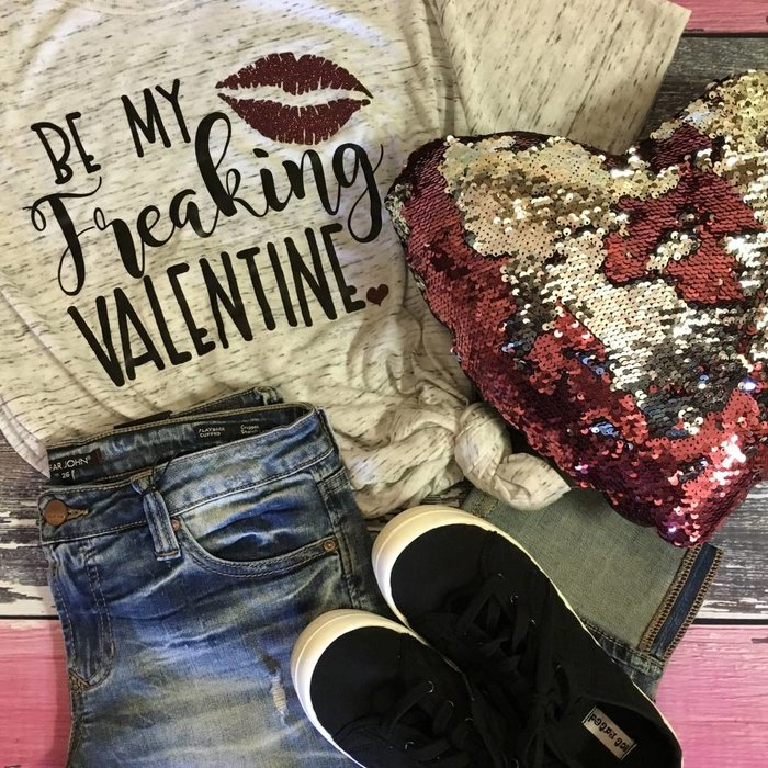Be My Freakin Valentine T-Shirt
