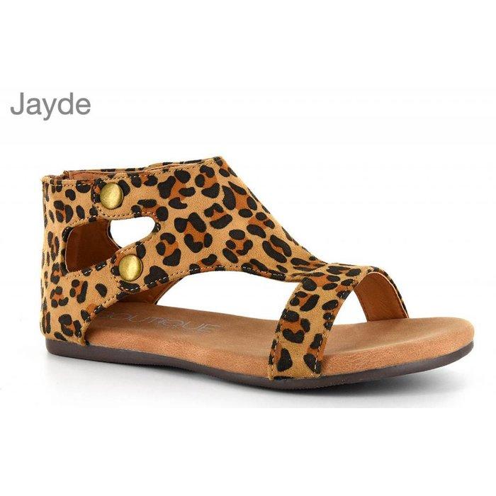 Jayde Sandals - Leopard