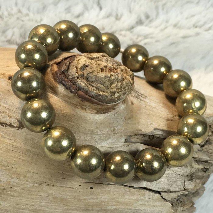 Antique Gold Stretch Bracelet