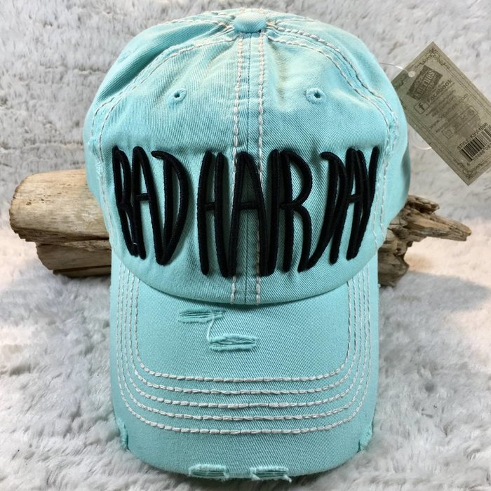 Bad Hair Day Mint Hat