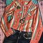 Caliente Button Down Tunic