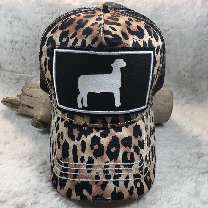 Leopard Lamb Show Hat