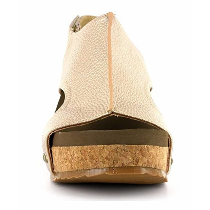 Gold London Wedge