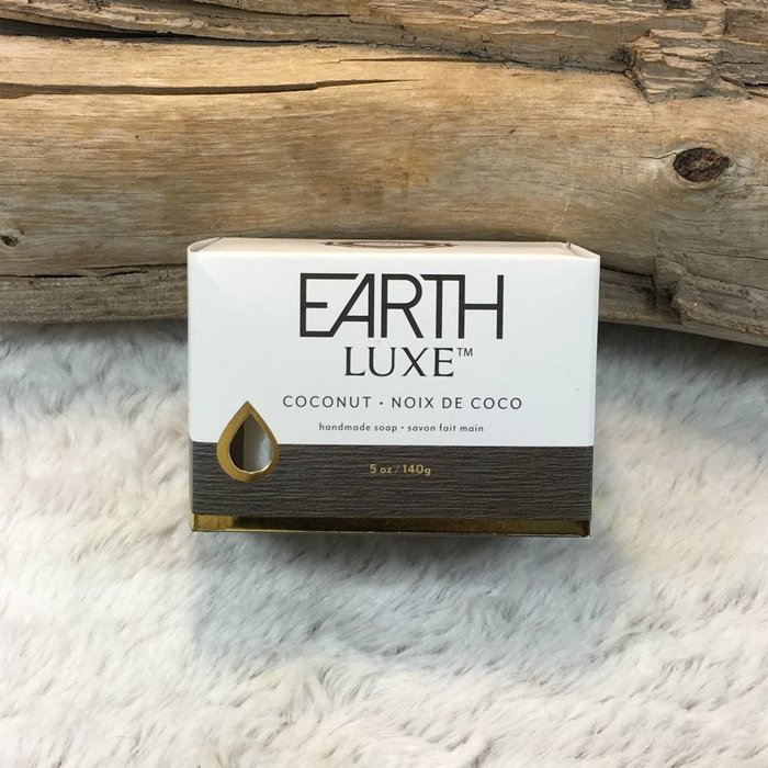 Coconut Soap Bar by Earth Luxe