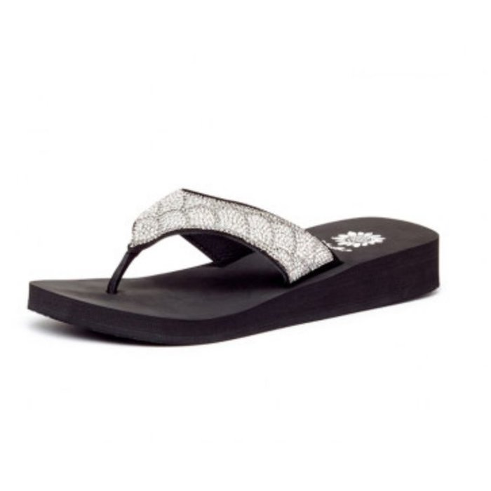 Zippie Mermaid Clear Bling Flip Flop